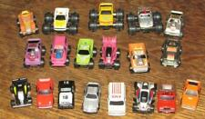 20 vintage 1980's  ROAD CHAMPS & FUNRISE  MICRO  CARs Race Monster Rescue