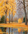 Fall Landscape by Mikhail Germashev, Giclee Canvas Print, in various sizes