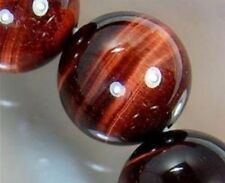 8mm African Roar Natural Tiger's Eye Gemstone  Round Loose Beads 15inch AAA
