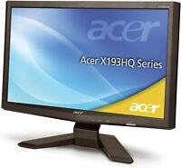 "Acer Monitor Acer X193HQL 18.5"" Widescreen LCD Monitor, 1366 x 768 Resolution"