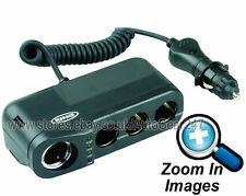 Ring RMS4 12v Car Cigarette Lighter Socket 4 Way Multi Adaptor, Battery Analyser