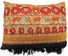Pillow cushion tapestry antique European Europe Hungarian Silk 1900