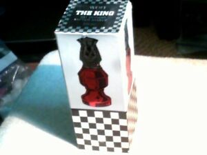 Vintage Tai Winds After Shave, Avon. The King chess decanter 3 fl oz full w box