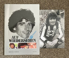 More details for 'auf wiedersehen kev,' newcastle united farewell programme & signed photo