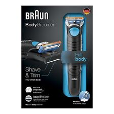 Braun BodyGroomer BG5010 , Wet & Dry - Rasoio Uomo per il Tutto Corpo,