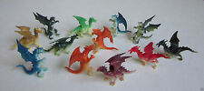 12 Mini Dragon Figures Knight Party Goody Loot Bag Filler Favor Supply Kid Toy