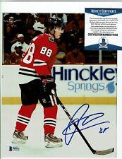 Beckett AUTHENTICATED - PATRICK KANE signed 8x10 PHOTO Chicago Blackhawks