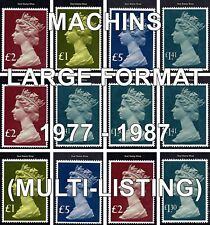 1977 - 87 Large Machin High Value Definitives (Multiple Listing) Unmounted Mint