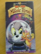 TOM AND JERRY MOVIE THE MAGIC RING VCR VHS TAPE