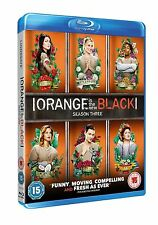 Orange Is The New Black Complete Series 3 Blu Ray All Episodes Third Season UK