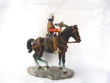Chevalier du moyen-âge n° 4 - Arbalétrier suisse - Soldat de plomb Altaya