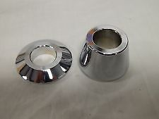 Harley Davidson RR Wheel Spacers, Chrome, XL - 41369-08