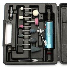 """1/4"""" BSP 90PSI Air Compressor Die Grinder Tool 23000Rmp w/Rotary Tool Bits"""
