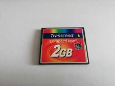Transcend CompactFlash  2GB 133X CF  CARD