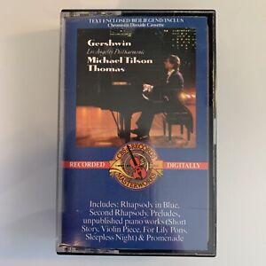 George Gershwin Los Angeles Philharmonic Michael Tilson Thomas (Cassette)