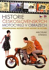 Book - Czechoslovak Motorcycles in Pictures - Czech Jawa CZ - English Brochures