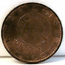 LAST COIN of PORTUGUESE INDIA 10 C 1961 circulated