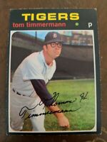 1971 TOPPS OPC O PEE CHEE #296 TOM TIMMERMANN DETROIT TIGERS Card
