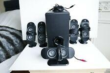 Logitech X-530 Speaker System - 5.1 Dolby Digital PC Surround Sound