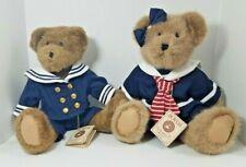 Boyds Bears Blair P & Andrew K Bridgeport Sailor Plush Best Dressed Head Bean