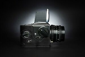 Real Leather Half Camera Case Bag Cover for Hasselblad 2000FC 2000FCW 2000FC/M