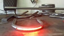 custom size Cafe Racer,Seat Frame Loop/Hoop with LED Brake Light carrier