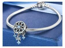 DREAM CATCHER SNOWFLAKE s925 Sterling Silver Charm by Pandora's Kings NEW