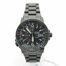 Citizen Promaster BJ7019-62E Eco-Drive Nighthawk Mens Pilot Analog Watch