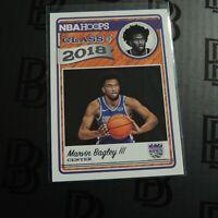 2018 Marvin Bagley III NBA Hoops Rookie Card Class of Insert Sacramento Kings SP