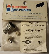 AMERICAN ELECTRONICS MODEL 92-089 SOLDERED CONNECTOR