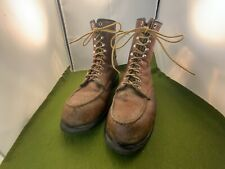 Men's VTG Red Wing Moc Toe Boots size 12 Or 13 No Size Marking