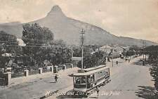 CAPE TOWN, SOUTH AFRICA ~ TROLLEY ON MAIN ROAD AT SEA POINT ~ c. 1904-14