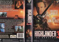 HIGHLANDER 3 THE SORCERER - VHS - PAL -NEW - Never played! - Original Oz release