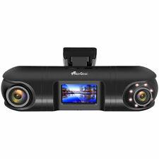Auto Camera: QHD-Dual-Dashcam mit 2 Kameras, G-Sensor, IR-Nachtsicht und GPS