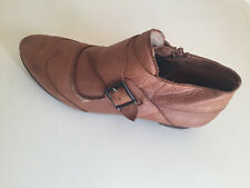 WOMEN COOLWAY LEATHER ANKLE BOOTS SIZE 40