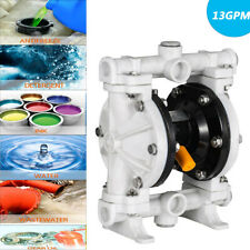 Air Operated Double Diaphragm Pump 12 13gpm For Chemical Industrial Water Us