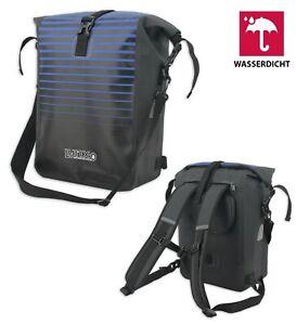 Fahrradrucksack Wasserdicht Fahrradtasche E-Bike Tasche Rucksack Schwarz 3-in-1