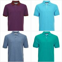 Fa M ou S High Street Store Men's Short Sleeve Polo Shirt T-Shirt 100% Cotton
