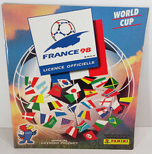 MUNDIAL FRANCE 98 1998 ALBUM FIFA WORLD PRINTED BY PANINI OFFICIAL REPRINTED!
