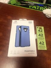 Nimbus9 Phantom 2 Case for Samsung Galaxy Note 9 Pacific Blue Translucent Clear