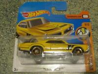 Hot Wheels 2017 # 359/365 1967 Pontiac GTO GIALLO HW MUSCOLO Mania