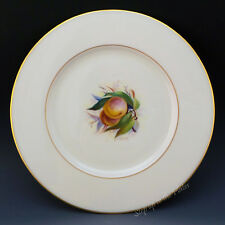 Lenox China Vintage Hand Paint Jan Nosek Fruit Peaches Cabinet Salad Plate T312