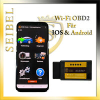 OBD2 KFZ Auto WI-FI Diagnosegerät Android & IOS Handy PC ADAPTER für Mercedes
