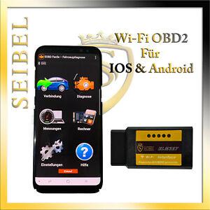 OBD2 KFZ Auto WI-FI Diagnosegerät Android & IOS Handy PC ADAPTER für Alfa Romeo