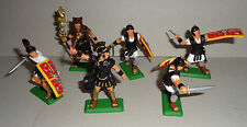 ROMANS PREAETORIAN Guard on foot ARGENTINA DSG Plastic Toy Soldiers set Britains