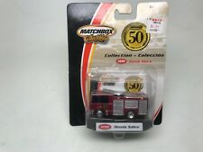 MATCHBOX- COLLECTIBLES-1998 DENNIS SABRE-FIRE TRUCK 2001-SEALED ON CARD-