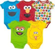 Sesame Street Boys Short Sleeve Tee Shirt 4SE6715F