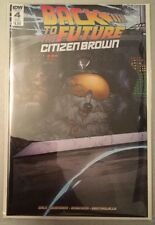 Back To The Future Comic Citizen Brown Issue 4 Sub Cover IDW Bagged & Boarded