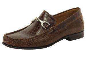 Donald J Pliner Men's Darrin2-TG Brown Loafers Shoes