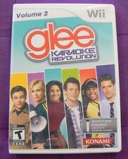 Karaoke Revolution: Glee - Vol. 2 (Nintendo Wii, 2011) Complete and Working